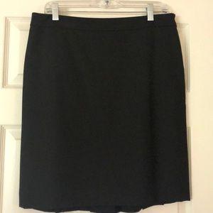 Loft- Petite Fully Lined Skirt